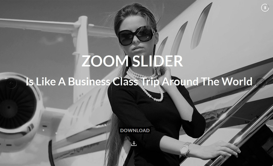 WordPress Slider Plugin Zoom In/Out Effect Fully Responsive