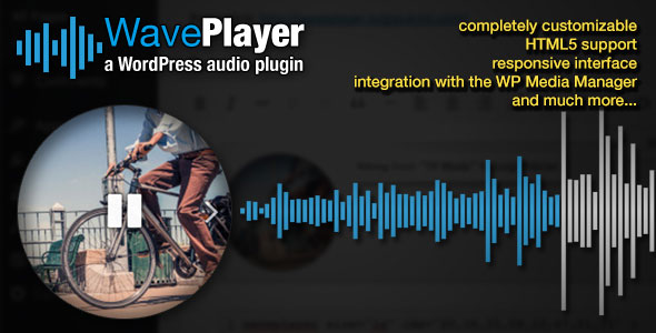 Wave Player WordPress Audio Player Plugin